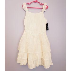 American Living white dress